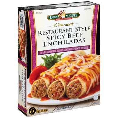 Don Miguel® Restaurant Style Spicy Beef Enchiladas Frozen Dinner 34 Oz. Box