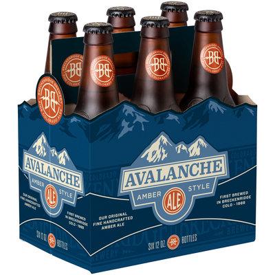 Avalanche Amber Style Ale 6-12 fl. oz. Bottles
