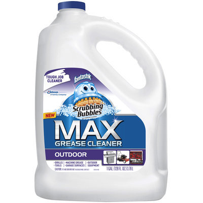 Scrubbing Bubbles Max Outdoor Grease Cleaner Refill with Fantastik 128 fl. oz. Jug