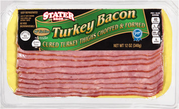 Stater Bros.® Turkey Bacon 12 oz. Pack