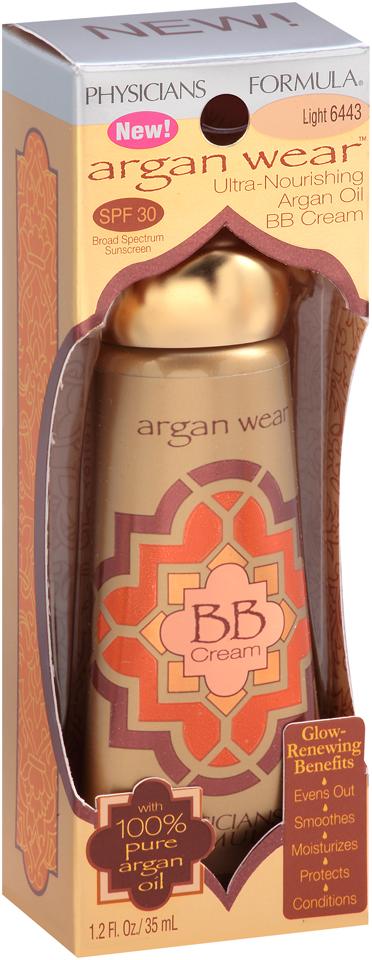 Physicians Formula® Argan Wear™ 6443 Light Ultra-Nourishing Argan Oil BB Cream 1.2 fl. oz. Box