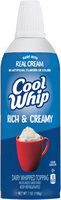 Cool Whip Rich & Creamy Dairy Whipped Topping Spout-Top