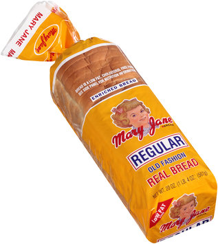 Mary Jane® Regular Old Fashion Real Bread 20 oz. Bag