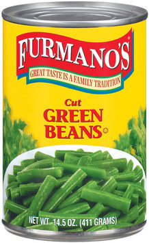 Furmano's Cut Green Beans 14.5 Oz Can