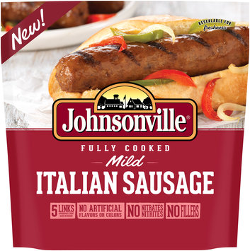 Johnsonville® Fully Cooked Mild Italian Sausage 13.3 oz. Pouch