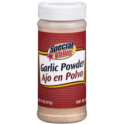 Special Value Garlic Powder 11 oz. Jar