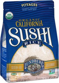 Lundberg Family Farms® Organic California Sushi Rice 4 lb Bag