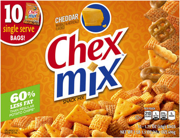 Chex Mix® Cheddar Snack Mix 10-1.75 oz. Bags