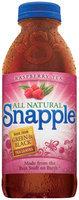 Snapple Raspberry Iced Tea 32 Oz Plastic Bottle
