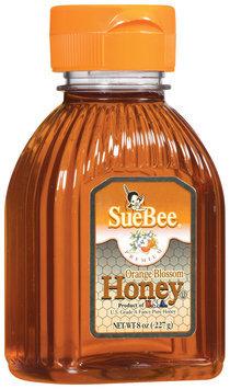 SueBee Orange Blossom Honey 8 Oz Squeeze Bottle