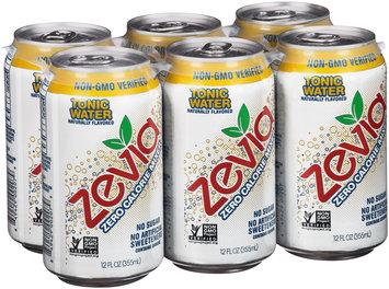 Zevia® Zero Calorie Mixer Tonic Water 6-12 fl. oz. Cans