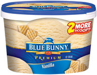 Blue Bunny Premium Vanilla Ice Cream 1.75 Qt Tub