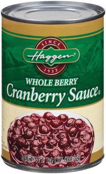 Haggen Whole Berry Cranberry Sauce