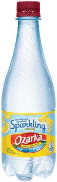 Ozarka® Sparkling Lemon Natural Spring Water