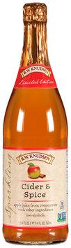 R.W. Knudesen® Cider & Spice Sparkling Juice 25.4 fl. oz. Bottle