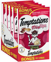 Whiskas® Temptations® Mix Ups Backyard Cookout™ Cat Treats 3.45 oz. Bag