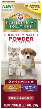 Arm & Hammer™ Healthy Home Solutions Fresh Clean Scent Odor Eliminator Powder 30 oz. Shaker