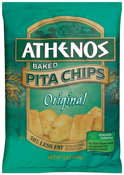 Athenos Baked Original Pita Chips 6 Oz Bag