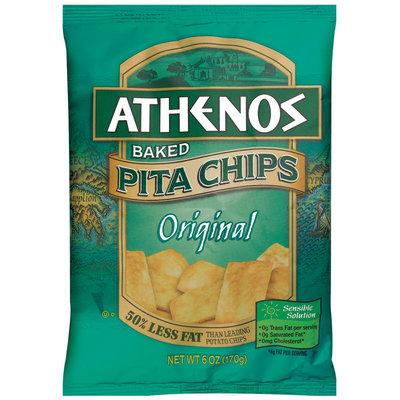 Athenos Baked Original Pita Chips 6 Oz Bag