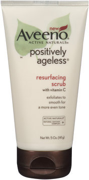 Aveeno® Positively Ageless® Resurfacing Scrub with Vitamin C 5 oz.