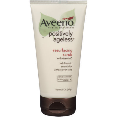 Aveeno® Positively Ageless® Resurfacing Scrub with Vitamin C 5 oz.