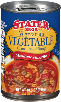 Stater Bros.® Vegetarian Vegetable Condensed Soup 10.5 oz. Can