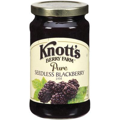 Knott's Berry Farm Pure Seedless Blackberry Jam 16 Oz Jar