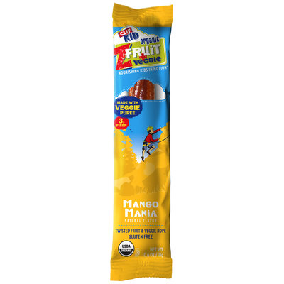 Clif Kid® ZFruit + Veggie Mango Mania Twisted Rope