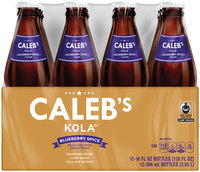 Caleb's Kola® Blueberry Spice Sparkling Water 12-10 fl. oz. Bottles
