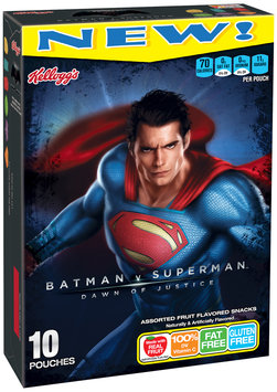 Kellogg's® Batman v Superman Dawn of Justice Assorted Fruit Flavored Snacks 10 ct Box