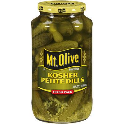 Mt. Olive Kosher Petite Dills Fresh Pack 32 fl. oz. Jar