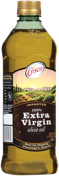 Crisco 100% Extra Virgin Imported  Olive Oil 25.3 Fl Oz Plastic Bottle