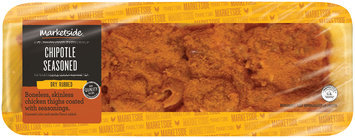 Marketside™ Chipotle Seasoned Dry Rubbed Boneless, Skinless Chicken Thighs