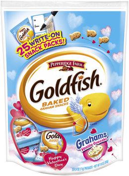 Pepperidge Farm® Goldfish® Grahams Vanilla Cupcake Baked Graham Snacks 25-0.4 oz. Packages
