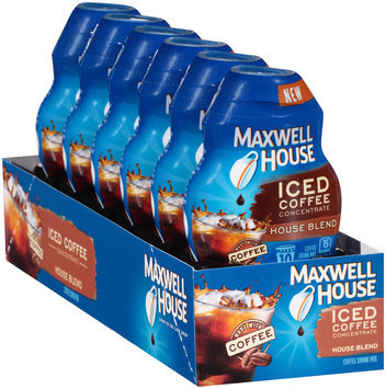Maxwell House House Blend Iced Coffee Concentrate 1.62 fl. oz. Bottle