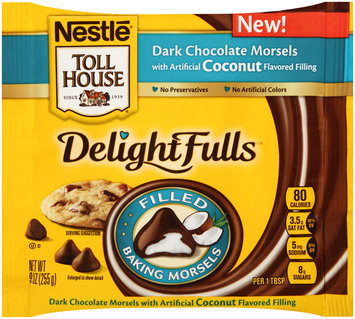 Nestlé® Toll House® Delightfulls Coconut Filled Dark Chocolate Morsels