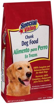 Special Value® Chunk Dog Food 8 lb. Bag