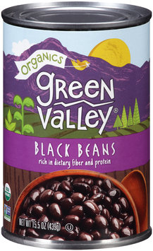 Green Valley® Organics Black Beans 15.5 oz. Can