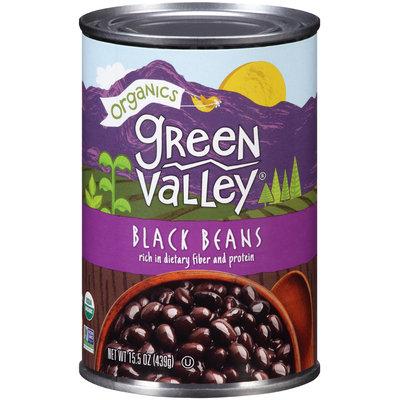 Green Valley® Organics Black Beans 15.5 oz. Can