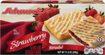 Schnucks® Strawberry Strudel 11.5 oz. Box