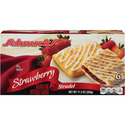 Schnucks® Strawberry Strudel 11.5 oz. Box