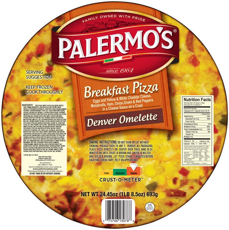 Palermo's® Denver Omelette Breakfast Pizza 24.45 Oz