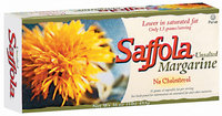 Saffola Stick Unsalted No Cholesterol Margarine 16 Oz Box