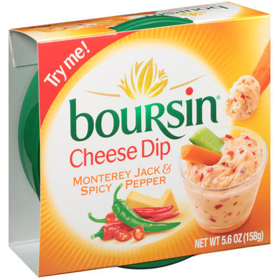 Boursin® Monterey Jack & Spicy Pepper Cheese Dip 5.6 oz. Tub