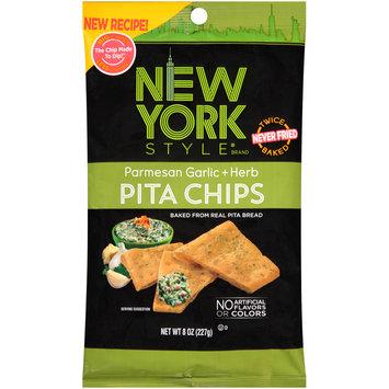 New York Style® Parmesan Garlic + Herb Pita Chips 8 oz. Bag