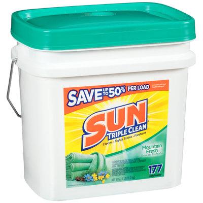 Sun® Mountain Fresh 177 Loads Laundry Detergent 22.7 lb. Pail