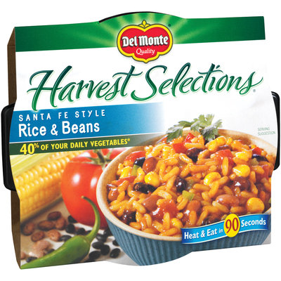Del Monte Harvest Selections® Rice & Beans 10 oz. Microwave Bowl