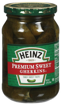 Heinz Premium Sweet Gherkins Pickles 16 Oz Jar