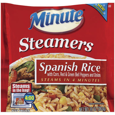 Minute Spanish Rice Steamers 10 Oz Bag