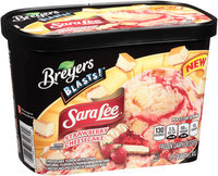 Breyers Blasts!® Sara Lee® Strawberry Cheesecake Frozen Dairy Dessert 1.5 qt. Tub